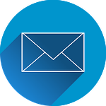 Send Email Icon for Contact Page